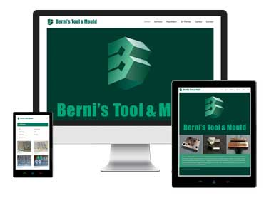 Berni's Tool and Mould – Logo and Website