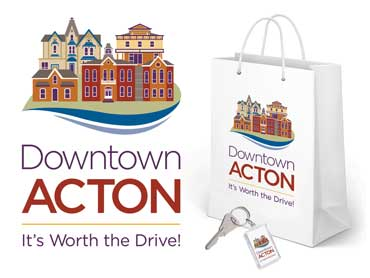 Downtown Acton Branding