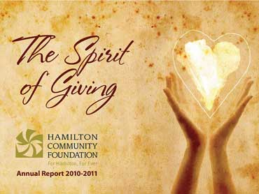 Hamilton Community Foundation – The Spirit of Giving
