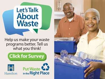 City of Hamilton – Let's Talk About Waste