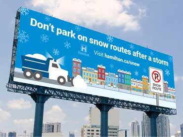 City of Hamilton – Snow Removal Campaign