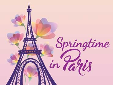 City of Hamilton  – Springtime in Paris